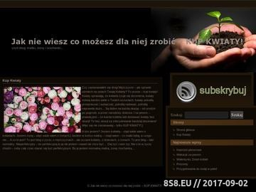 Zrzut strony Kwiaty online i kwiaciarnia internetowa Gliwice, kwiaty na Dzień Matki, bukiety