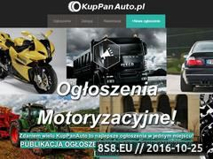 Miniaturka kuppanauto.pl (Nowoczesny portal ogłoszeniowy - motoryzacja)