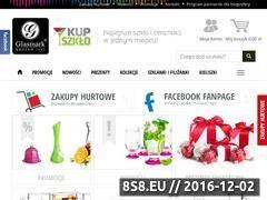 Miniaturka domeny www.kupszklo.pl