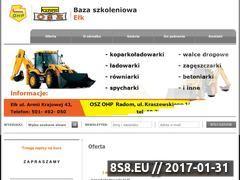 Miniaturka domeny kurs-operatora-koparkoladowarki-elk.pl