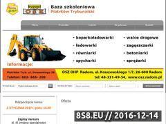 Miniaturka domeny kurs-operatora-koparkoladowarki-piotrkowtrybunalski.pl