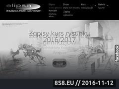 Miniaturka www.kurs-rysunku.pl (Kurs Rysunku Elipsa - Kursy Architektura Kraków)