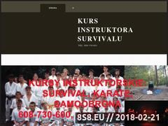 Miniaturka kursinstruktorasurvivalu.pl (Kursy instruktorskie)