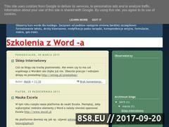 Miniaturka domeny kursword.blogspot.com