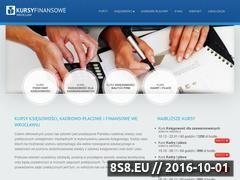 Miniaturka domeny kursyfinansowe.com.pl