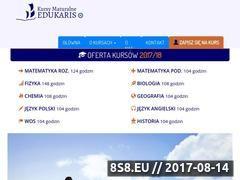 Miniaturka kursymaturalne.pl (Kursy maturalne)
