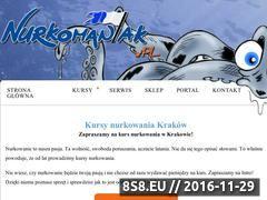 Miniaturka www.kursynurkowania.info.pl (Kursy nurkowania w Krakowie)