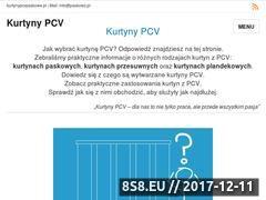 Miniaturka kurtynypcvpaskowe.pl (Kurtyny paskowe i pasy z elastycznej folii PCV)