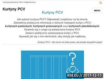 Zrzut strony Kurtyny paskowe, pasy z folii PCV