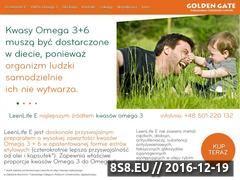 Miniaturka domeny kwasyomega3.net