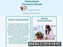 Miniaturka domeny kwiaciarnia.starachowice.pl