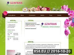 Miniaturka domeny kwiaciarniaszafran.pl