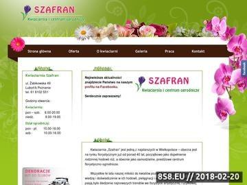 Zrzut strony Kwiaciarnia Poznań