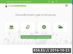 Miniaturka domeny www.kwiaciarniazielonasciana.pl