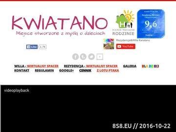 Zrzut strony Wczasy Noclegi Grzybowo Pensjonat Willa Kwiatano