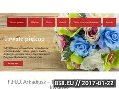 Miniaturka domeny kwiatyarkadiusz.pl