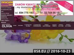 Miniaturka domeny kwiatyolivia.pl