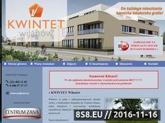 Miniaturka domeny www.kwintet-wilanow.pl