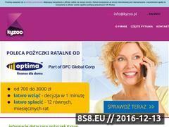 Miniaturka domeny kyzoo.pl