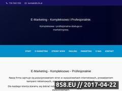 Miniaturka l2k.pl (Marketingowe pozycjonowanie sklepów)