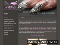 Miniaturka domeny la-mirage.pl