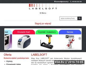 Zrzut strony Labelsoft - drukarki etykiet