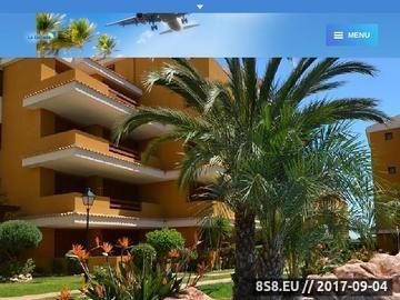 Zrzut strony Hiszpania wakacje apartamenty noclegi