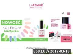 Miniaturka lafemme.pl (Lampa UV do paznokci)