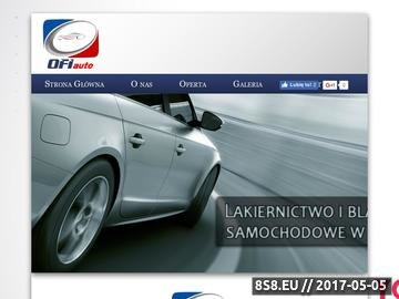 Zrzut strony OFI-AUTO naprawy karoserii