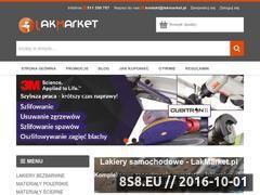 Miniaturka domeny lakmarket.pl
