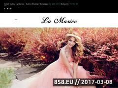 Miniaturka domeny www.lamariee.pl