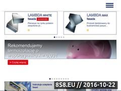Miniaturka domeny lambda.swisspor.pl