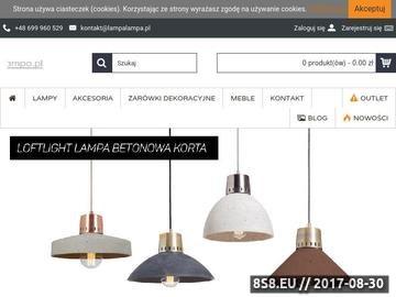 Zrzut strony Lampy sufitowe