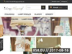 Miniaturka lampy-klasyczne.pl (Sprzedaż internetowa lamp w stylu klasycznym)