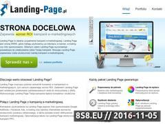 Miniaturka domeny www.landing-page.pl