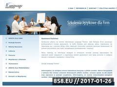 Miniaturka domeny www.language-partner.edu.pl