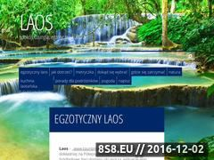 Miniaturka www.laos.net.pl (Przewodnik dla podróżników po Laosie)