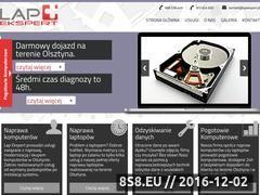 Miniaturka domeny www.lapekspert.pl