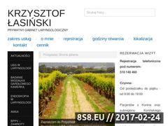 Miniaturka domeny laryngolog-konin.pl