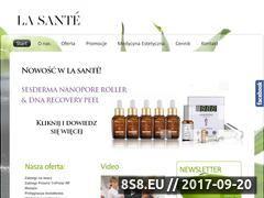 Miniaturka domeny www.lasantekielce.pl