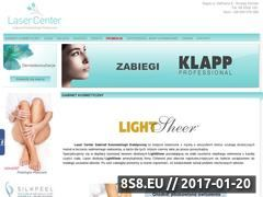 Miniaturka domeny www.laser-center.pl