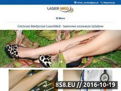 Miniaturka domeny www.laser.opole.pl