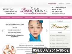 Miniaturka domeny www.laserclinic.radom.pl