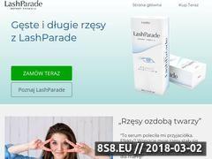 Miniaturka domeny lashparade.com.pl