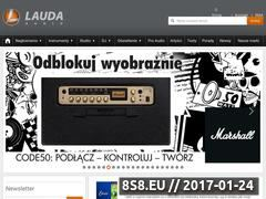 Miniaturka domeny lauda-audio.pl