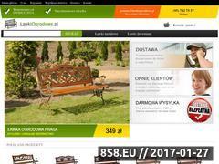 Miniaturka domeny www.lawkiogrodowe.pl