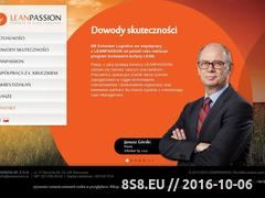Miniaturka domeny www.leanpassion.pl