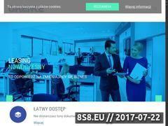 Miniaturka leasingnowoczesny.pl (Leasing Nowoczesny)