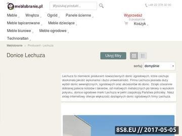 Zrzut strony Lechuza doniczki