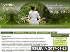 Miniaturka domeny leczeniedepresji.com.pl